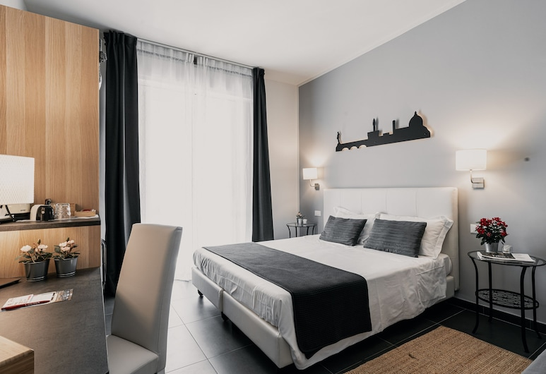 Easy Florence, Florence, Chambre Triple Deluxe, 1 chambre, balcon, Chambre