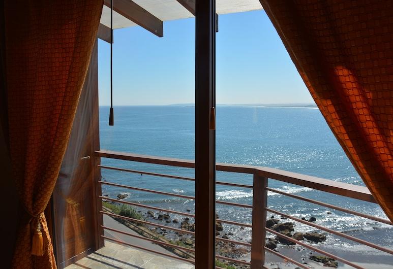 Den Navigators Nook, med udsigt over Stillehavet, Con Con Bay, Chile., Concón, Altan