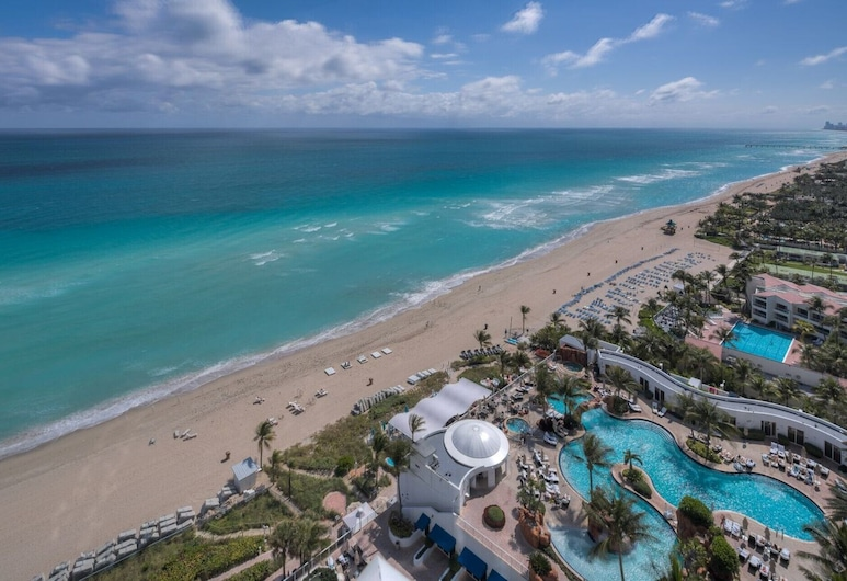 Trump Resort - Privately Owned Junior Suite With Ocean View, Sunny Isles Beach, Pláž