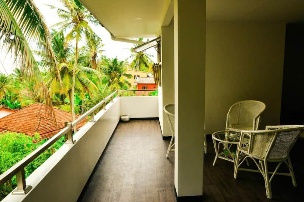 Lägenhet Deluxe - 2 sovrum - icke-rökare - Balkong