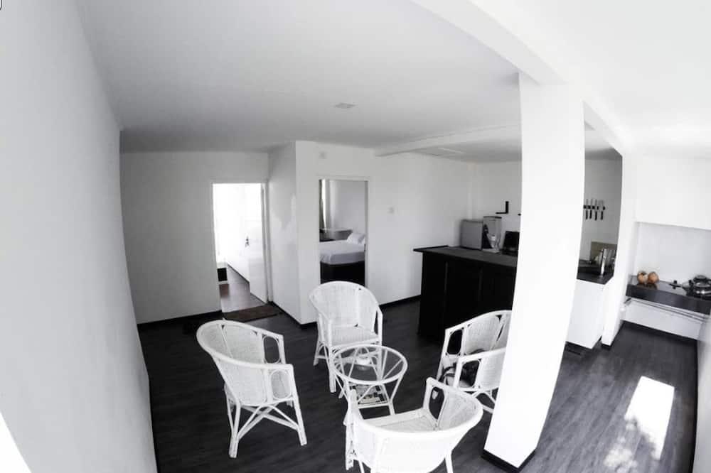 Lägenhet Deluxe - 2 sovrum - icke-rökare - Vardagsrum
