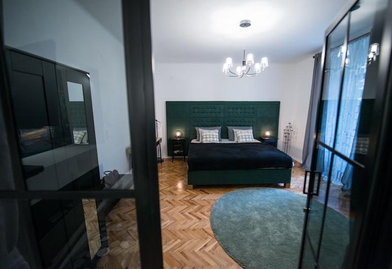 Green Oasis Zagreb City Centre, Zagreb, Deluxe Apart Daire, Oda