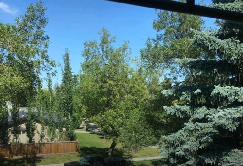 LUXURY CENTRAL LOCATION, Edmonton, Pokój dwuosobowy, Łóżko podwójne, prywatna łazienka, Taras/patio