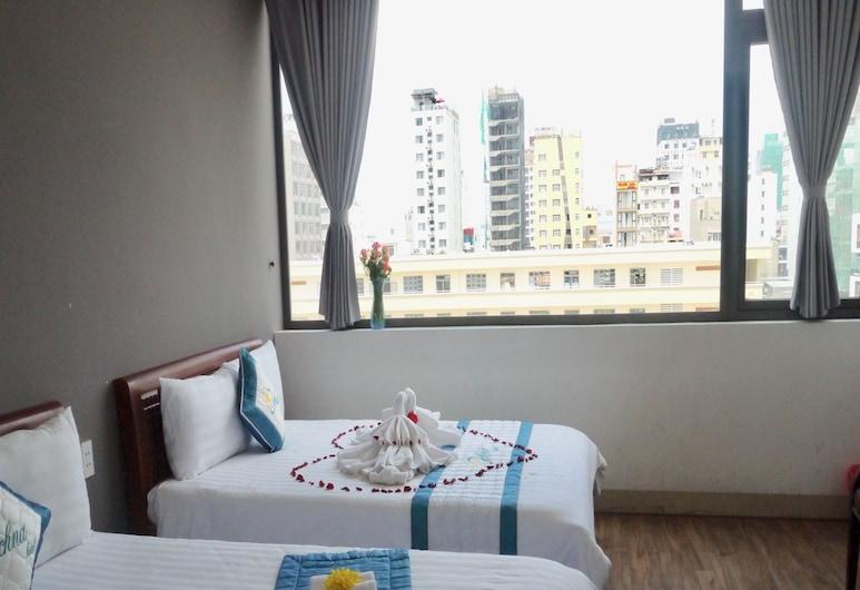 峴港奧奇娜飯店, 峴港, 豪華三人房, 1 間臥室, 城市景觀, 客房