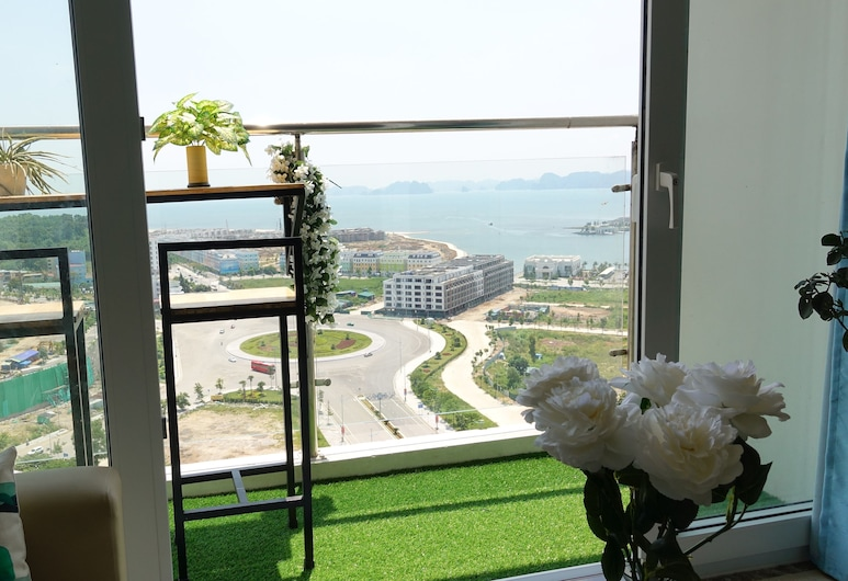 Salito Apt Sea View in New Life Tower, Ha Long, Stadsutsikt från boendet