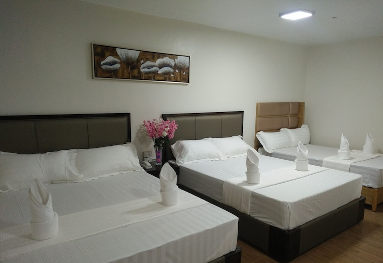 Meaco Royal Hotel-Batangas City, Batangas City, VIP Family Room, Guest Room