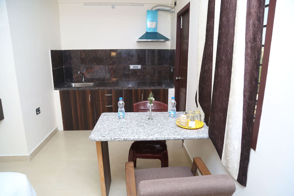 Royal suite - Eetruimte in kamer