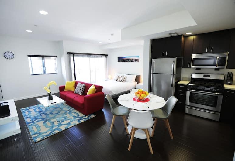 Hollywood Urban Residences, Los Angeles, Štúdio typu Grand, 1 veľké dvojlôžko s rozkladacou sedačkou, Výhľad z izby