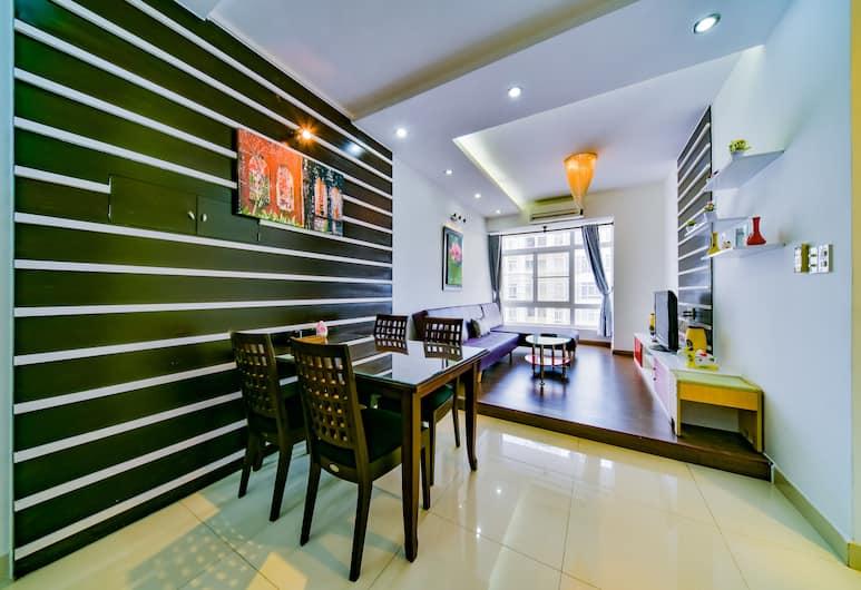 Victorian Hotel, Ho Chi Minh-Stad, Familie appartement, 2 slaapkamers, Uitzicht op de stad, Bijgebouw, Kamer