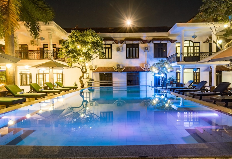 Hoian Nostalgia Hotel & Spa, Hoi An, Piscina Exterior