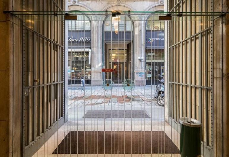 Duomo 5 Apartment, Milaan, Ingang van de accommodatie