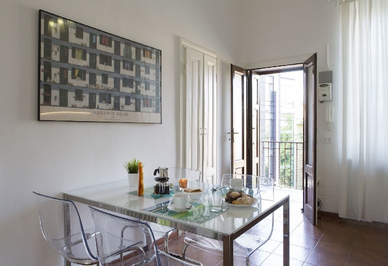 Fashion 37 Apartment, Μιλάνο, Διαμέρισμα, 1 Υπνοδωμάτιο, Γεύματα στο δωμάτιο