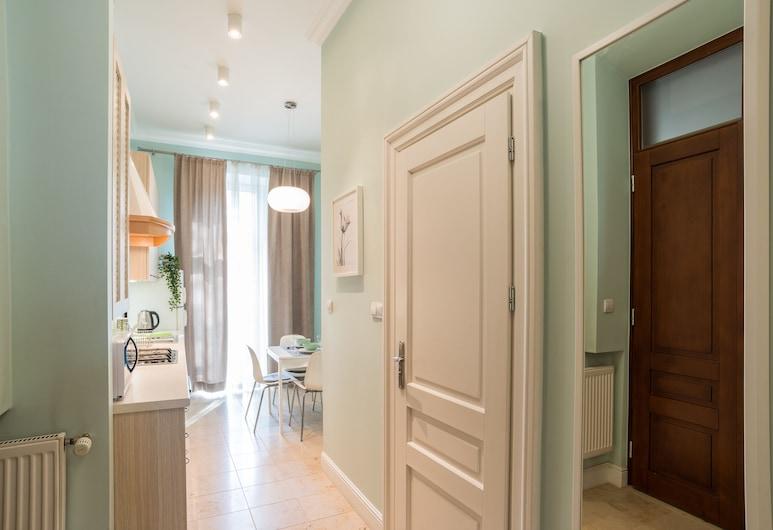 RentPlanet - Apartament Ariańska 13, Krakow, Family Apartment, Living Area