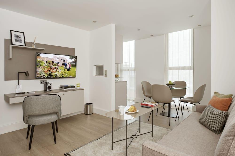 Номер-люкс, 2 спальні - Житлова площа