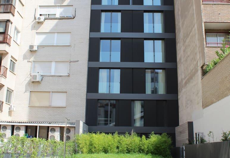 Hoom Apartments Juan Bravo, Madrid, Fassade der Unterkunft