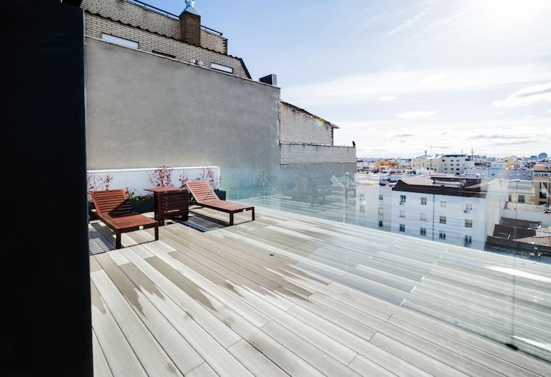 Hoom Apartments Juan Bravo, Madrid, Penthouse Design, Terrasse/Patio