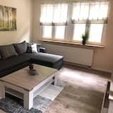 Deluxe Διαμέρισμα, 1 Queen Κρεβάτι - Καθιστικό