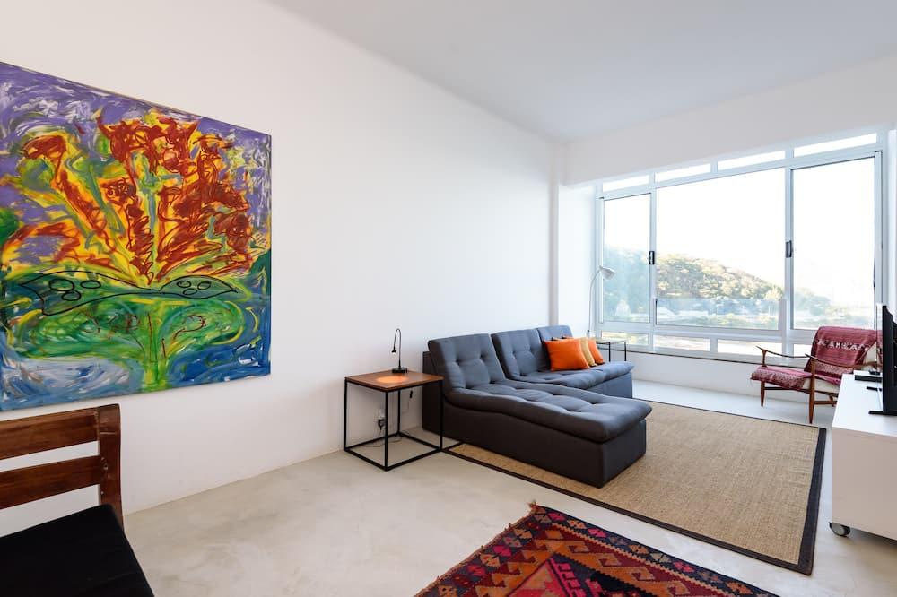 Apartmán, nefajčiarska izba - Obývačka
