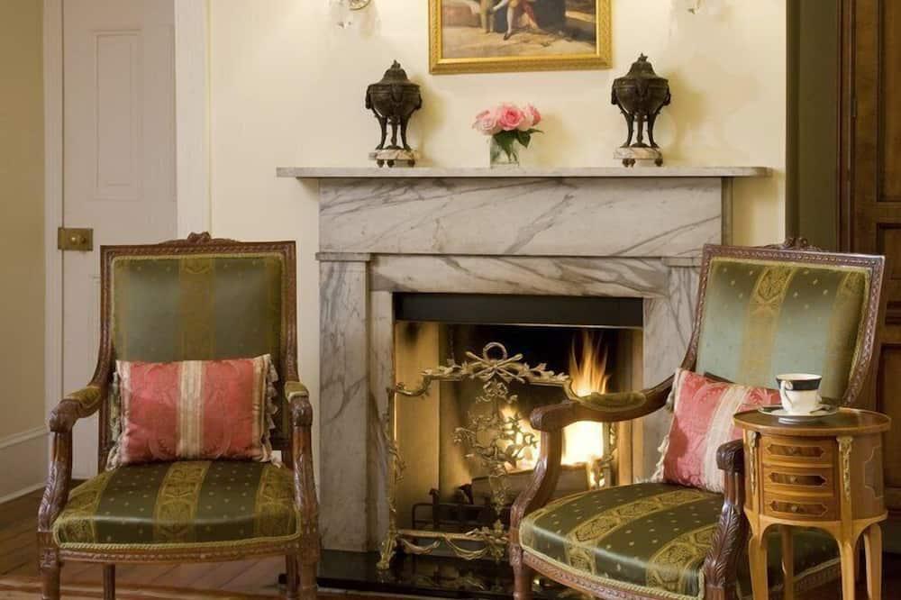 Apartament luksusowy typu Suite, widok na ogród (Murray Suite) - Powierzchnia mieszkalna