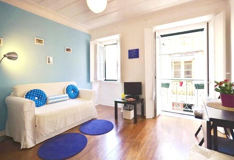 Apartment With one Bedroom in Lisboa, With Wifi - 12 km From the Beach, Lissabon, Olohuone