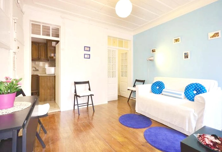 Apartment With one Bedroom in Lisboa, With Wifi - 12 km From the Beach, Lizbona, Salon