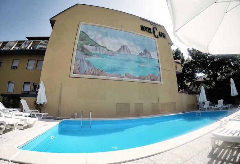 Hotel Capri, Fiuggi, Basen odkryty