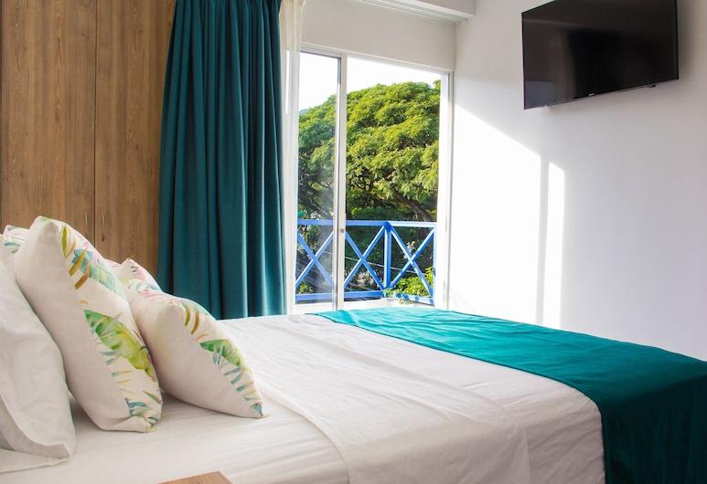 Hotel Avanti, קאלי, חדר זוגי, מרפסת, חדר אורחים