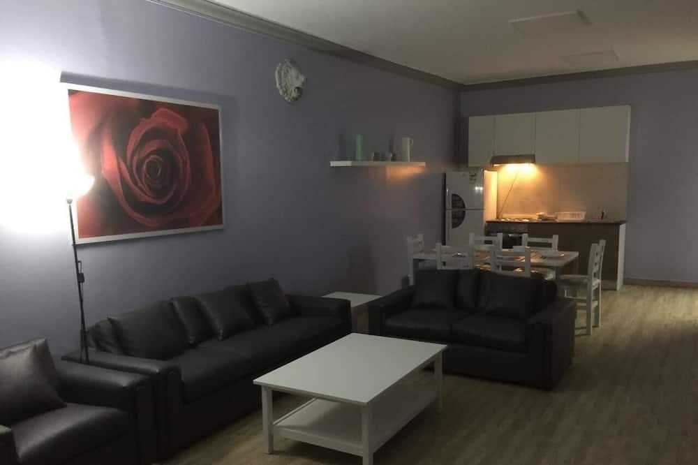 شاليه - ٤ غرف نوم - بمنظر للبحر (Unit 1) - منطقة المعيشة
