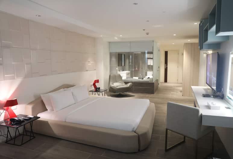 馬尼拉城市公園飯店, 達義, 奢華套房, 1 張加大雙人床, 客房