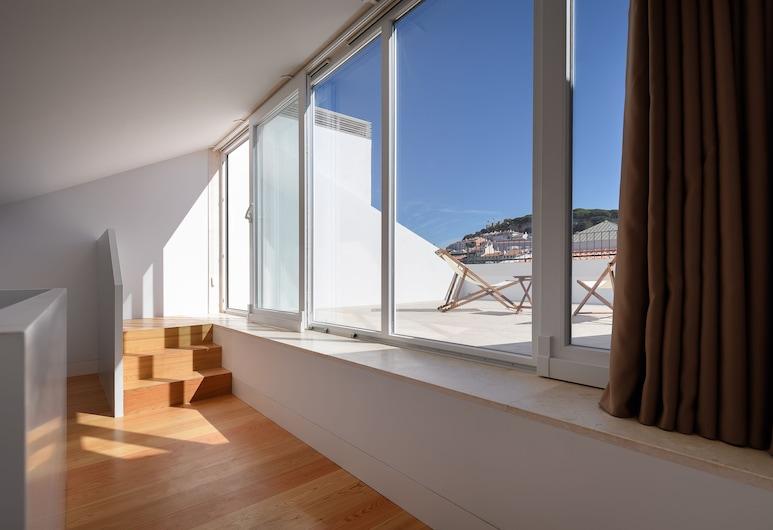 Ouro Grand By Level Residences, Lisbonne, Appartement Duplex, 2 chambres, terrasse, vue ville, Chambre