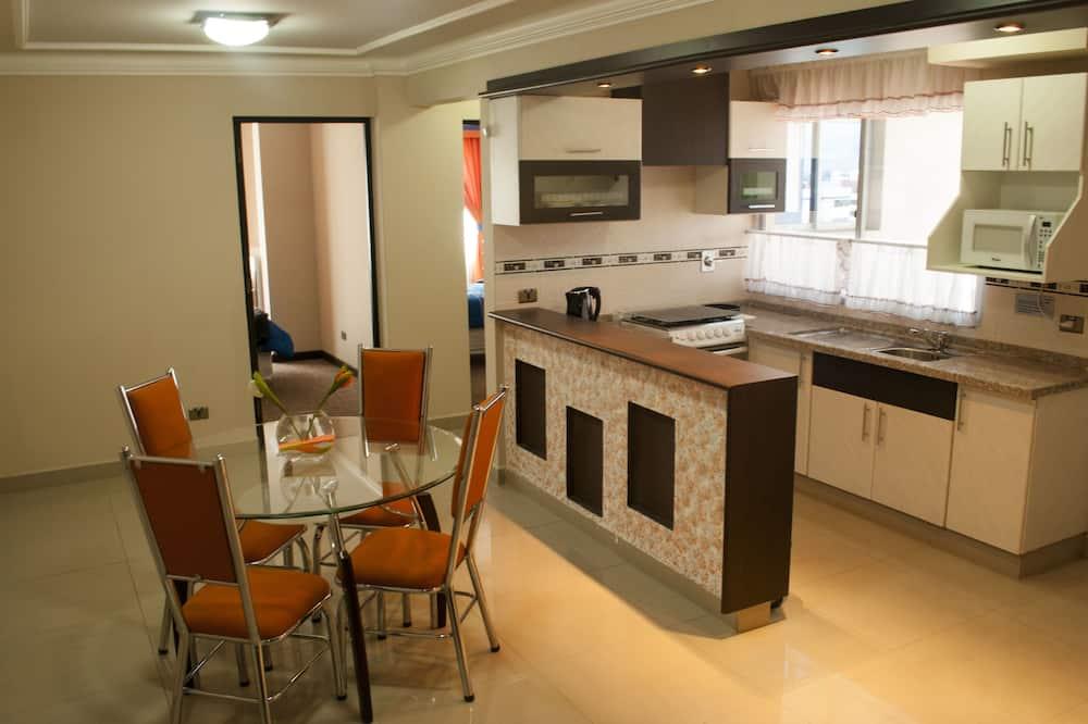 Familienapartment, 3Schlafzimmer, 2 Bäder - Wohnbereich