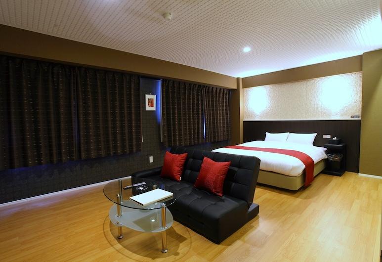 TOWN HOTEL Forty·One, קאנאזאווה, חדר זוגי, למעשנים, חדר אורחים