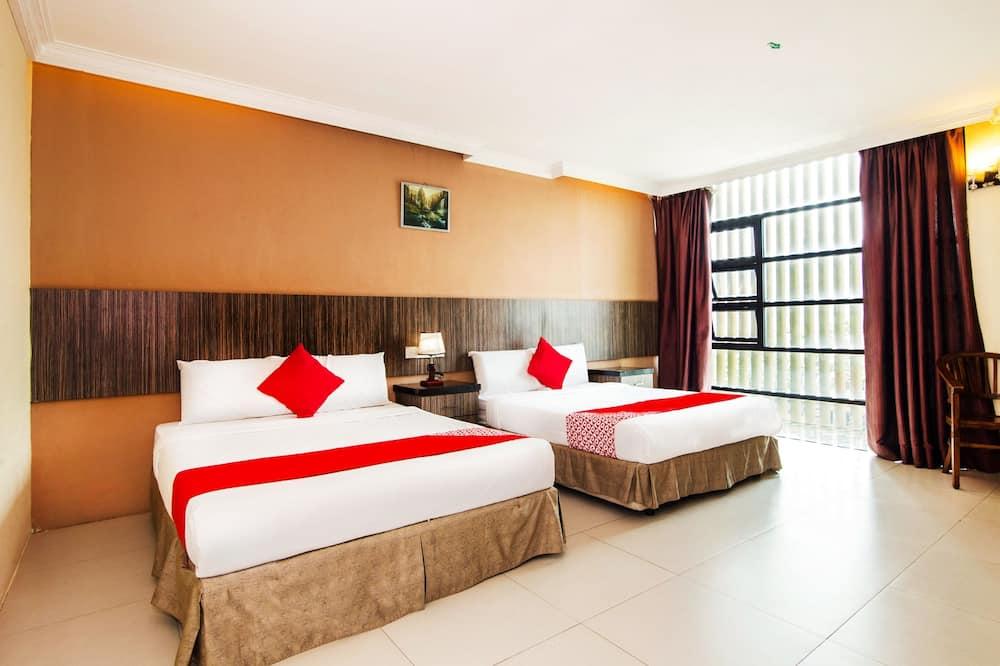 家庭套房, 2 張標準雙人床, 非吸煙房 - 客房