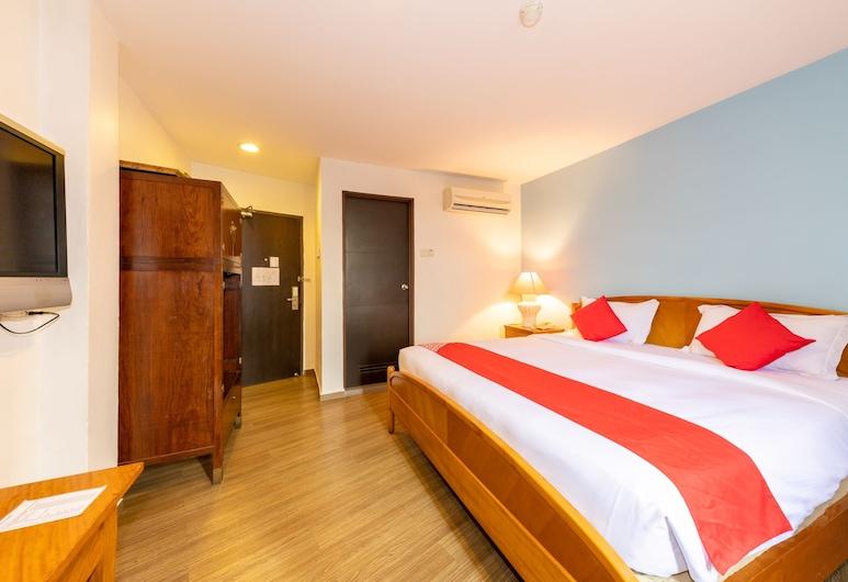 OYO 430 Oak Valley Boutique Hotel, Džohor Baru, Liukso klasės dvivietis kambarys, 1 labai didelė dvigulė lova, Nerūkantiesiems, Svečių kambarys