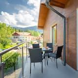 Deluxe Apart Daire, Balkon, Dağ Manzaralı (9) - Balkon