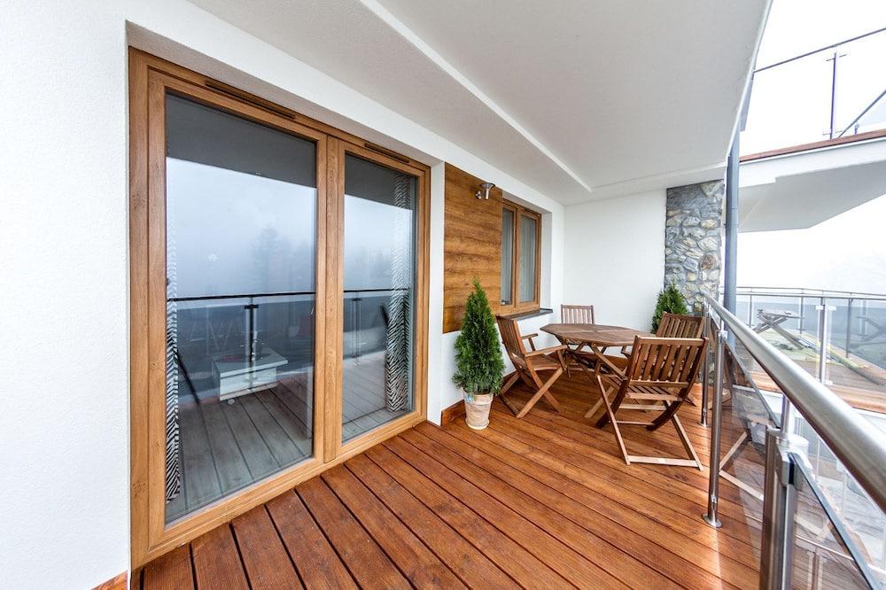 Deluxe Apart Daire, Balkon, Dağ Manzaralı (2) - Balkon
