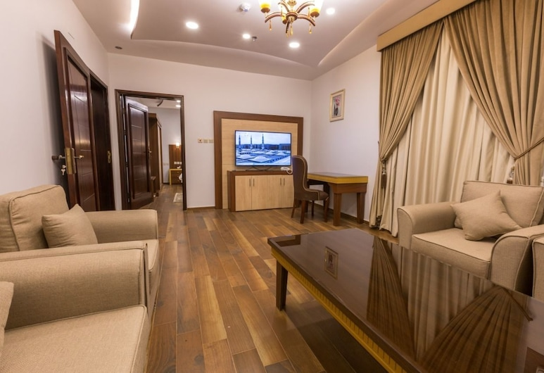 Rafahyat AlFakhama furnished units, Tabuk, Apartamento, 2 Quartos, Área de Estar