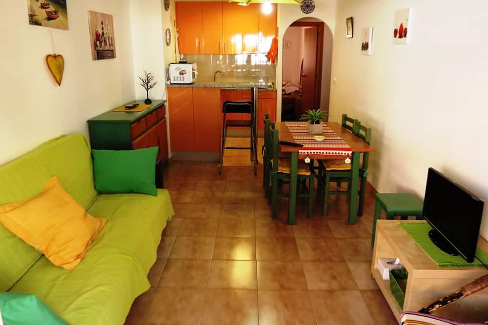 Külaliskorter, 2 magamistoaga, terrass - Esimene mulje