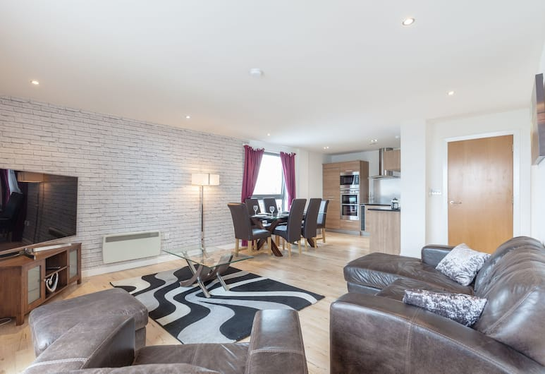 Stylish Penthouse Suite, Edinburgh, Interieur