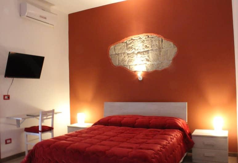 B&B Napoli Central Gate, Νάπολη, Δίκλινο Δωμάτιο (Double), 1 Queen Κρεβάτι, Μη Καπνιστών, Μπαλκόνι, Δωμάτιο επισκεπτών