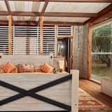 Розкішний номер-люкс, 1 ліжко «кінг-сайз», з видом на гори - Номер
