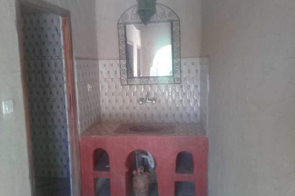 Tweepersoonskamer, 1 tweepersoonsbed, niet-roken - Badkamer