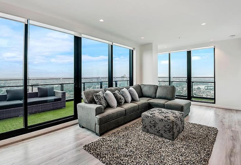 MJ Shortstay Apartments - Platinum Tower, Southbank, Apartemen, 3 kamar tidur, teras, Area Keluarga