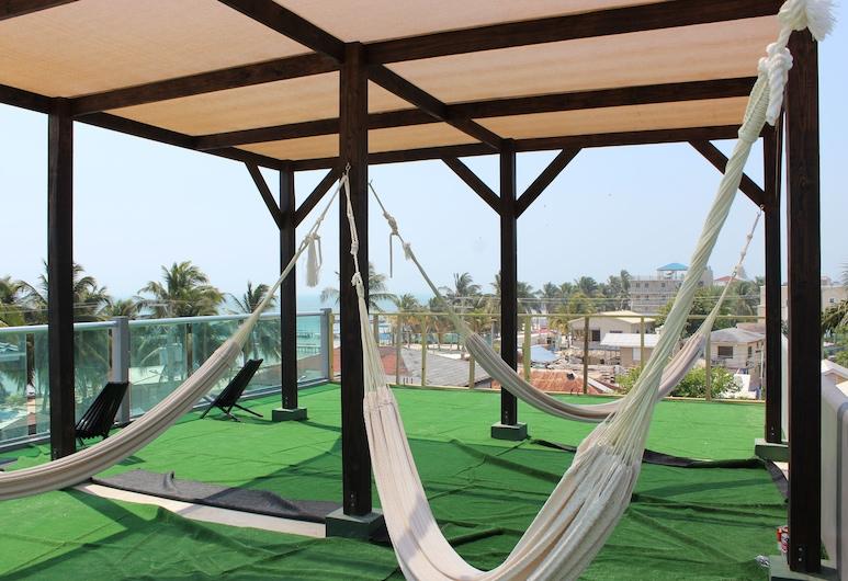 Barefoot Caye Caulker Hotel, Caye Caulker, Terrace/Patio