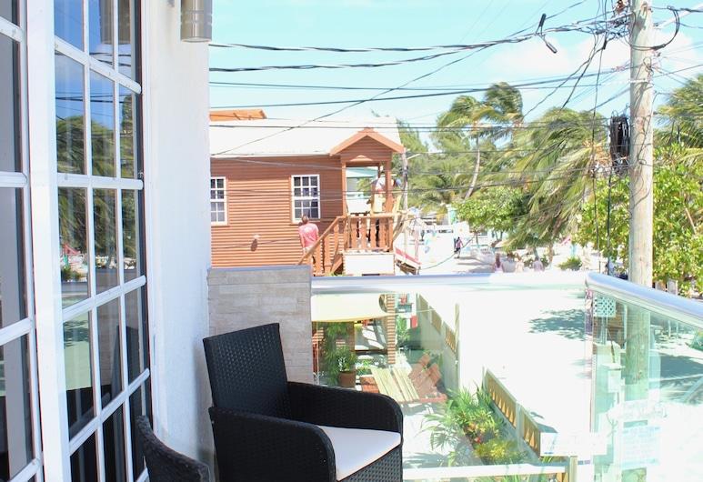 赤腳考克島飯店, 考克島, 豪華客房, 2 張標準雙人床, 可使用泳池, 海景, 陽台