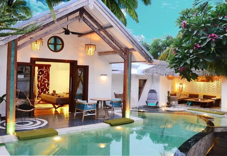 The White Key Luxury Villas, Gili Trawangan, King Villa with Two-Bedrooms and Pool
