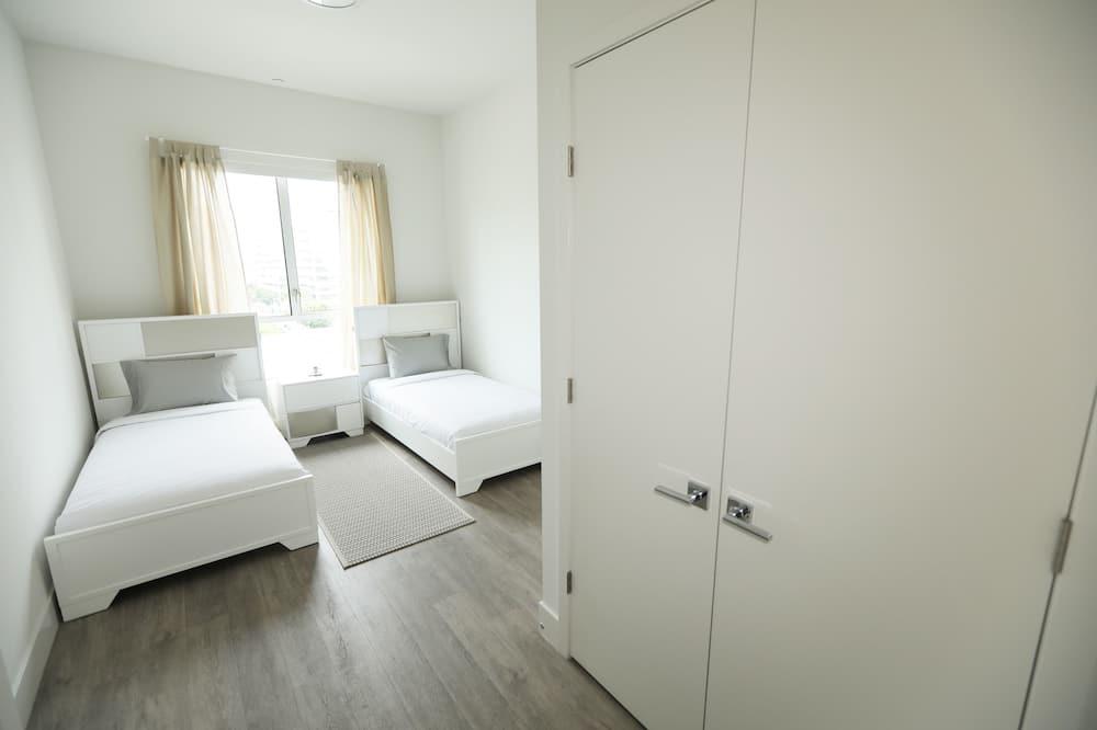 Executive külaliskorter, 2 magamistoaga, 2 vannitoaga, vaade linnale - Lõõgastumisala