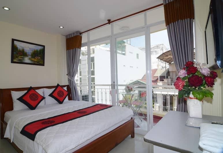 RedDoorz Plus @ Pham Ngu Lao 2, Ho Chi Minh-Stad, Deluxe kamer, Kamer