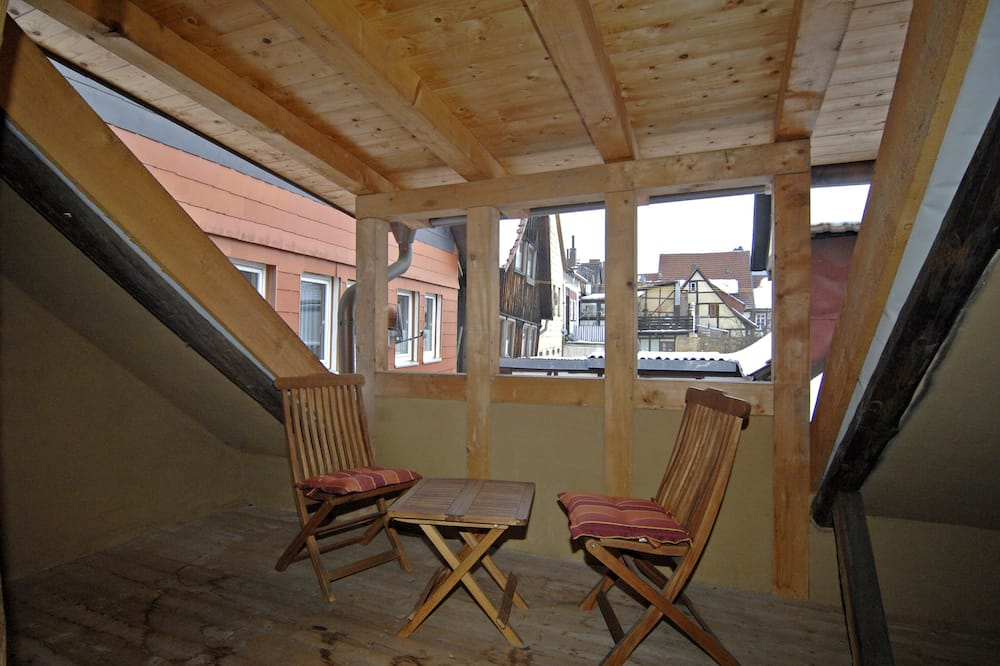 Condominio, 1 habitación, para no fumadores (Ferienwohnung Nr. 2) - Balcón