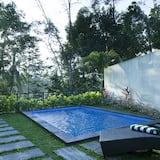 Suite One Bedroom Pool Villa - منطقة المعيشة